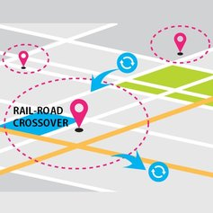 Geofencing-based Rail Crossing Alert System